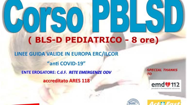 """DOMENICA 30 MAGGIO 2021 a Roma Corso PBLS-D (Pediatric Basic Life Support & Defibrillation) Certificato I.R.C. e Accreditato ARES 118, con nuove Linee Guida """"anti Covid-19"""""""